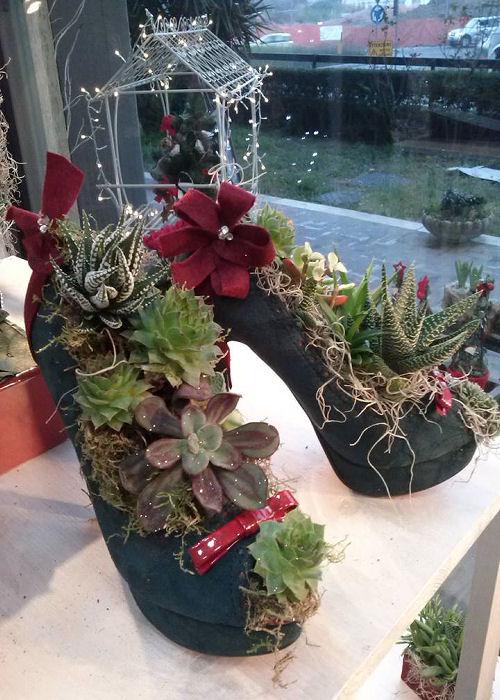 scarpa-decorazioni-floreali-terni